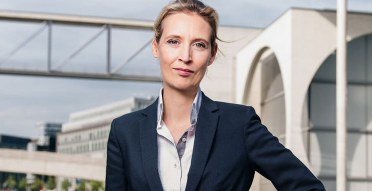 AfD-kandidat Alice Weidels to ansikter